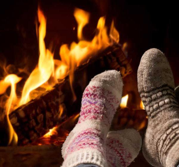 cocooning au coin du feu