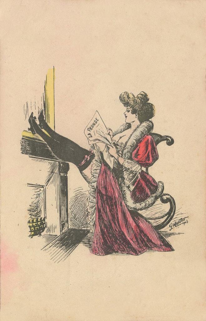 Illustration de Georges Mouton